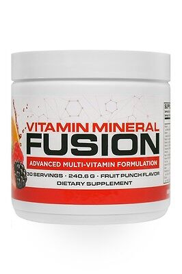 Vitamin Mineral Fusion  Drink Mix   Infowars Life   Fruit Punch Flavor   On Sale