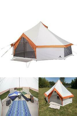 8 Person Yurt Tent Large Ozark Trail Family Hiking Camping O