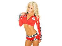 Girl Racer, fancy dress costume