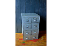 Vintage steel drawers