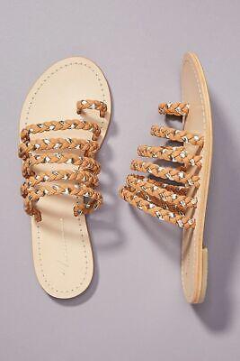 NWT Anthropologie Tulum Sandals Size 38
