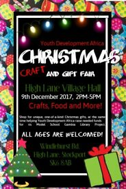 Vendors Wanted- Christmas Craft and Gift Sale