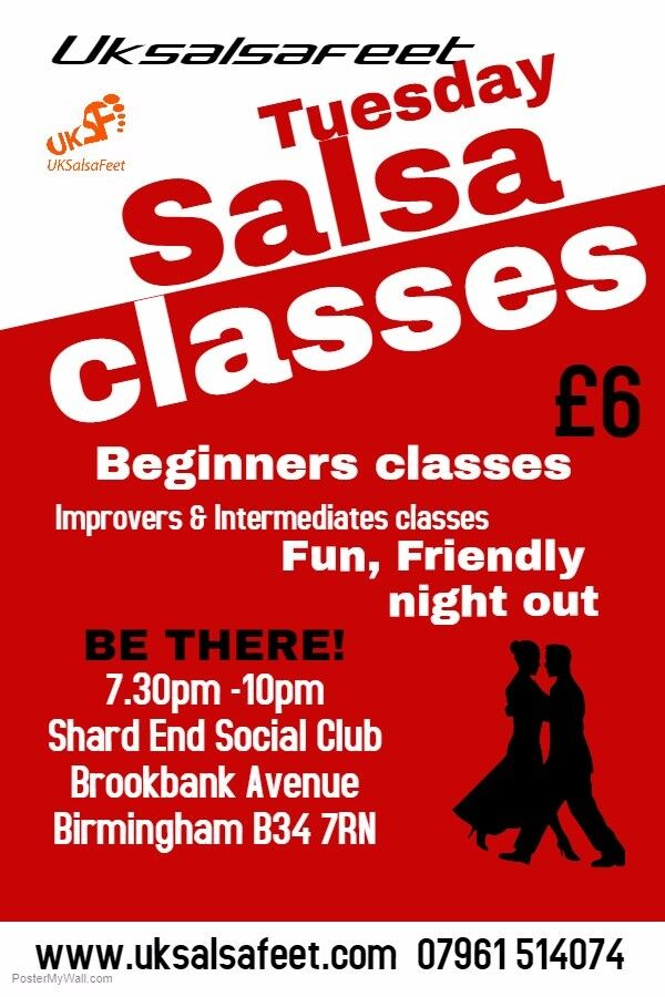 Shard End Salsa Classes
