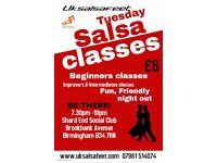 Shard End Salsa Classes