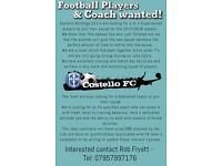 Football Team looking for players and a coach!