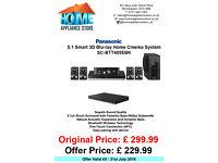 PANASONIC SC-BTT465EBK 5.1 Smart 3D Blu-ray Home Cinema System