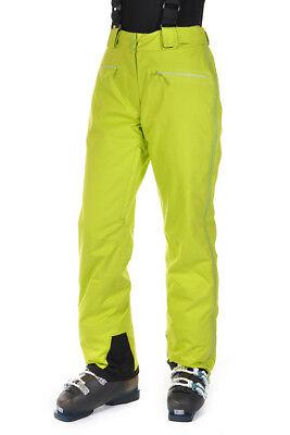 Neu VÖLKL Damen Skihose TEAM L PANTS FULL ZIP Lime GR. 42 UVP 269,95€ Team Full Zip Pant