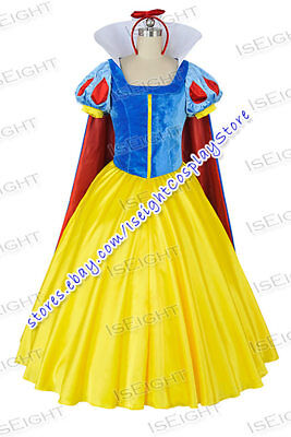 Snow White And The Seven Dwarfs Cosplay Snow White Costume Formal Dress