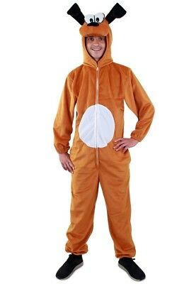 ★ Dalmatiner Braunes Braun Hund Kostüm Tier ,Tierkostüm S,M,L,XL Unisex,Tieren  (Dalmatiner Kostüm Kostüm)