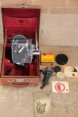 Video cameras Antique~Paillard-Bolex H 8 8mm