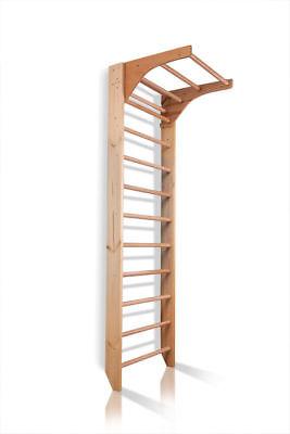 Swedish Ladder Wall Bars Sport Wooden Children Home Gym Adult Kids Toys Workout