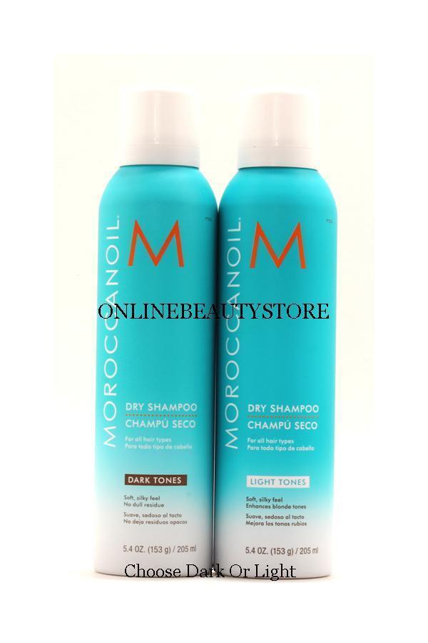 "Moroccanoil dry shampoo 5.4 oz, ""Select Light Or Dark"""