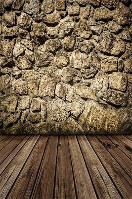 Stone Wall Studio 5x7ft Photography Backgrounds Retro Style Photo Backdrop Props - Stone Backdrop