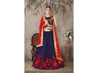 Pure Silk Fabric Lehenga Choli Collection by Vardhita Sarees