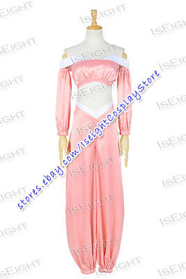 Aladdin And The King Of Thieves Jasmine Princess Cosplay Costume Pink Uniform - Jasmine And Aladdin Costumes