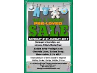 Baby and Children's Pre-Loved SALE Saturday 21st January 2017