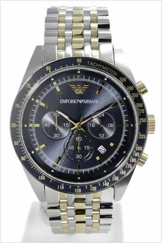 Emporio Armani  Herren Uhr AR6088 Chronograph BiColor Klassik NEU OVP