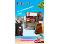 beautiful caravan to rent TOWYN
