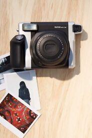NEW Fujifilm Instax 300 camera + Lens + 9 photos GREAT FOR CHRISTMAS