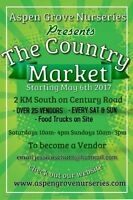 Local Market in Spruce Grove looking for vendors
