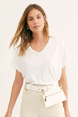 Free People We The Free All Mine Tee Women Ivory New w/ Tag