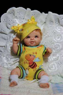 "OOAK 6.5"" Baby Art Doll Polymer Clay by Svitlana"