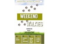 Weekend Walkies, Professional Dog Walking Service