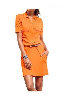 Shirtkleid. B.C. BEST CONNECTIONS by heine. Orange. Gr. 40. NEU!!!
