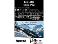 Amazing French Alps in Valloire 5 Lofts with view, near ski lifts