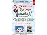 A Christmas Carol family performances by Hobgoblin Theatre Company