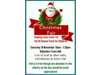 Ballyclare Christmas Fair with NI Cancer Fund for Children