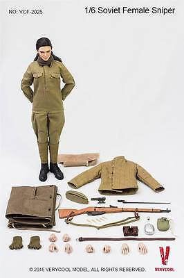 Soviet Female Sniper  Wwii   12  Act Fig Very Cool Vc F2025