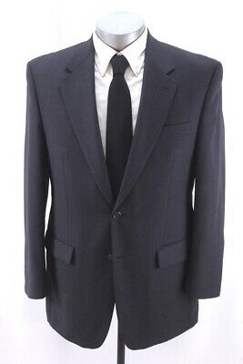 mens charcoal RALPH LAUREN blazer jacket sport suit coat wool classic 40 R