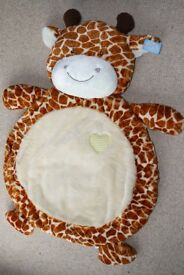 Soft Baby Floor Giraffe Play Tummy Time Mat
