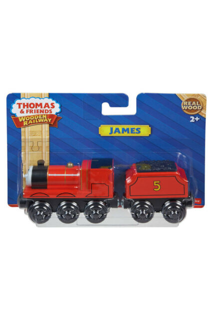 NEW Thomas The Tank Wooden Railway James Large Vehicle/Engine