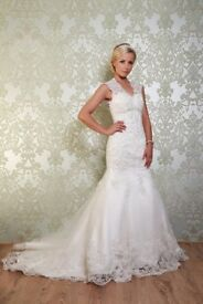 Viva bride Vintage wedding dress gown Size 8 - 10