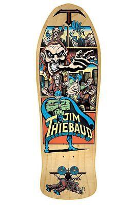 Santa Monica Airlines Jim Thiebaud VILLAIN JOKER Skateboard Shirt WHITE MEDIUM
