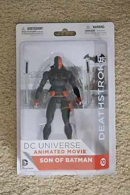 DC DIRECT SON OF BATMAN ANIMATED MOVIE DEATHSTROKE FIGURE