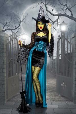 Hexen-Lady - Hallween Kostüm - Vampire - Karneval - Horror - Grusel - - Gruseligsten Kostüm Damen
