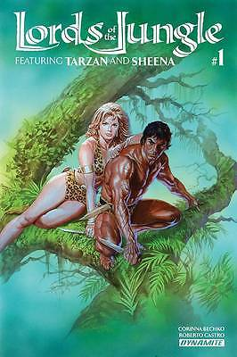 LORDS OF THE JUNGLE FEATURING TARZAN AND SHEENA #1 ALEX ROSS COVER