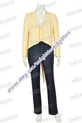 The Princess And The Frog Prince Naveen Cosplay Costume Suit Uniform Full Set