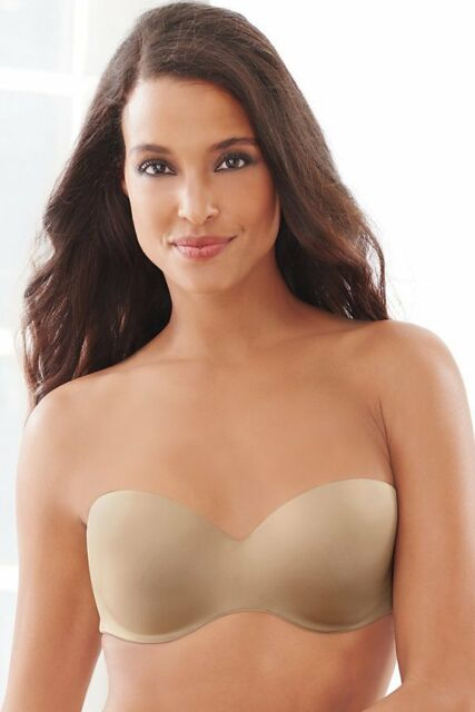 Lilyette 822 Comfort Devotion Full Figure Strapless Bra Size 42c ...