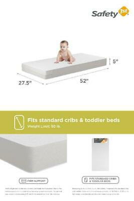 "Safety 1st Child Toddler Crib Mattress 5"" Waterproof"