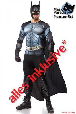 Dark Hero Herrenkostüm, Männerkostüm, Karneval, Fasching, versch. Größen,NEU/OVP