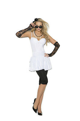 Rock Star - 6 Piece Costume Adult Woman Halloween Singer Punk Rocker 80's - Female Rock Star Costume