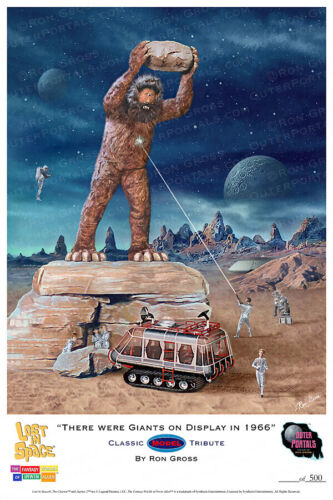 Lost in Space - There were Giants on Display in 1966 - Cyclops & Chariot