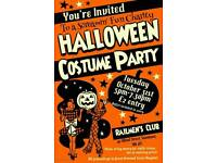 Charity Halloween party all welcome