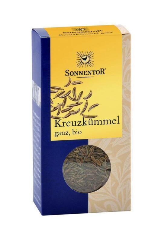 KS (15, 86/100g) 2x Sonnentor Kreuzkümmel ganz bio 40 g Tüte