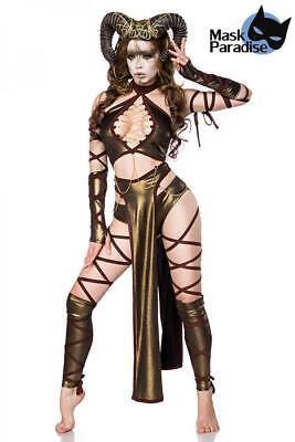 Dämonen Succubus Lady Damen-Kostüm Mask Paradise Halloween Xs S M L XL -