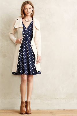 NWT Anthropologie Ophira Dot Dress by Maeve, Sz S, Ladylike for everyday use